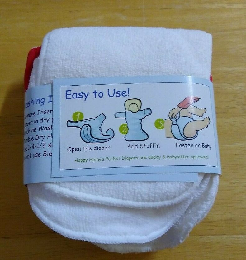Happy Heiny One Size Diaper Review 1