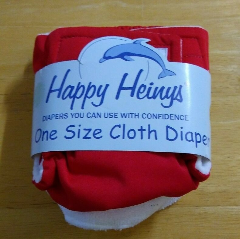 Happy Heiny One Size Diaper Review