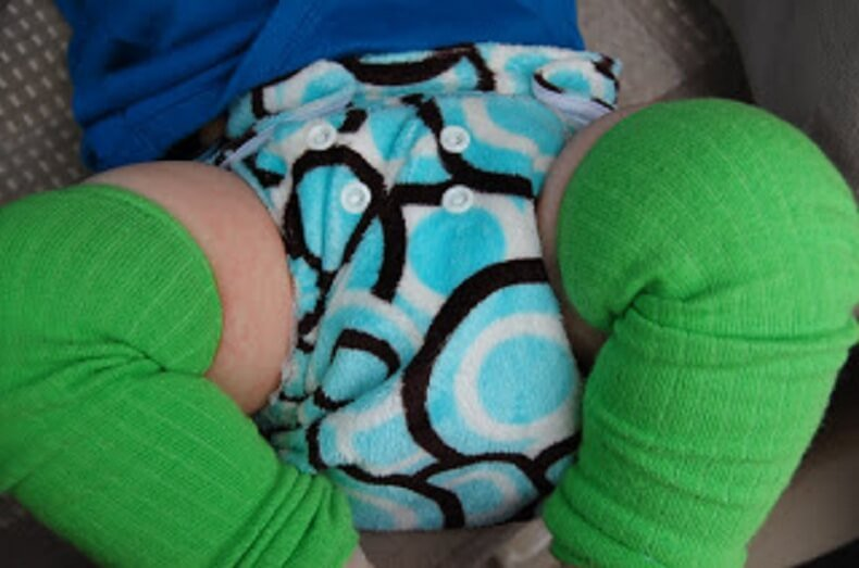 Travel Hybrid Cloth Diaper 2
