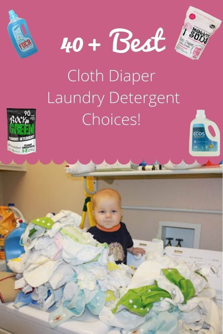 40 Plus Best Cloth Diaper Laundry Detergent Choices