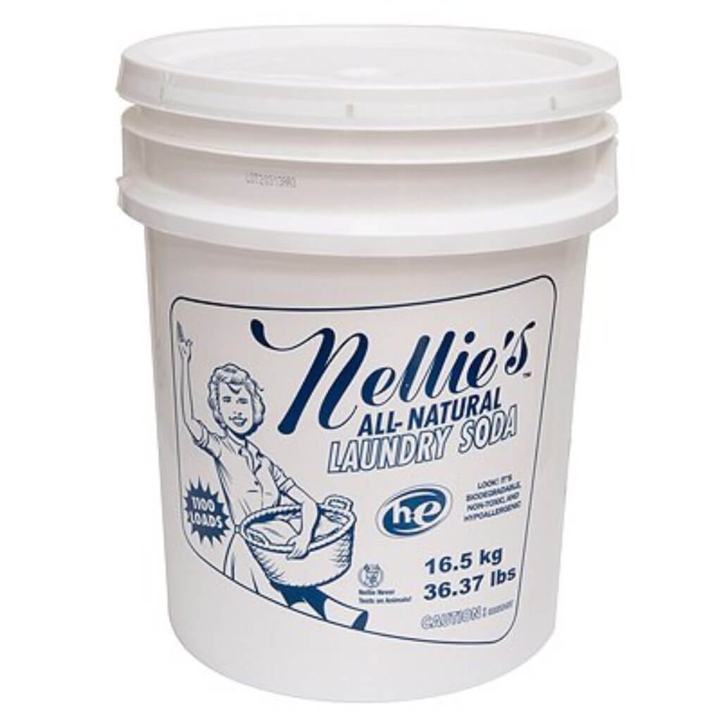Nellie's Laundry Soda without optical brighteners
