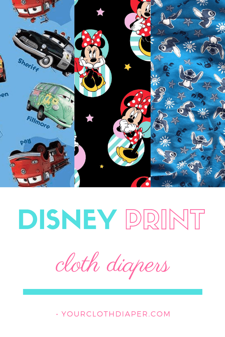 Disney Print Cloth Diapers P