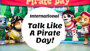 International Talk Like A Pirate Day #Giveaway ~ Sept. 19, 2019