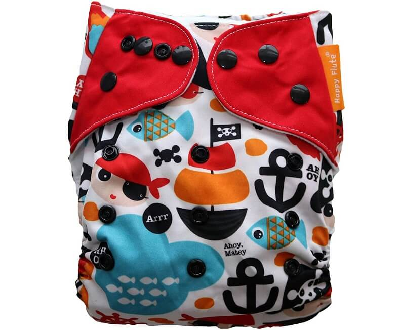 International Talk Like A Pirate Day Cloth Diaper