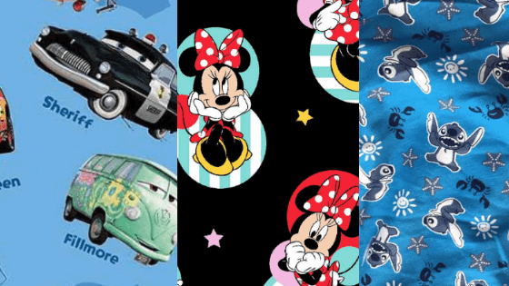 Unique Disney Print Cloth Diapers