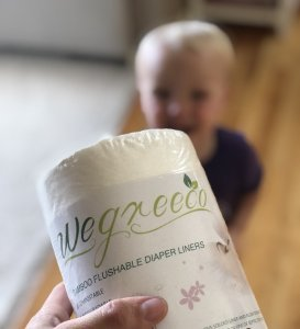 Wegreeco Bamboo Disposable Liners For Cloth Diapers Review