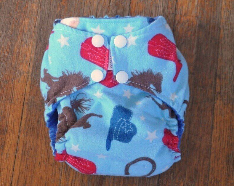 Boulevarddesigns Fitted Cloth Diaper