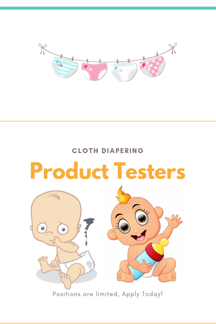 Cloth Diapering Product Testers Needed