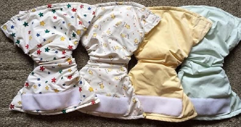 Kushies Ultra Lite All In One Cloth Diaper