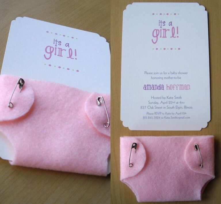 Diaper Party Ideas For A Second Baby Invitations 2