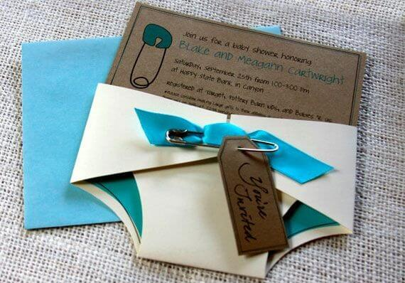 Diaper Party Ideas For A Second Baby Invitations