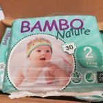 Bambo Nature Baby Diapers Size 2 7 13 Lbs