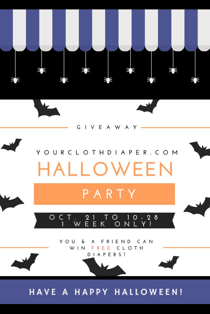Free Halloween Cloth Diaper Party