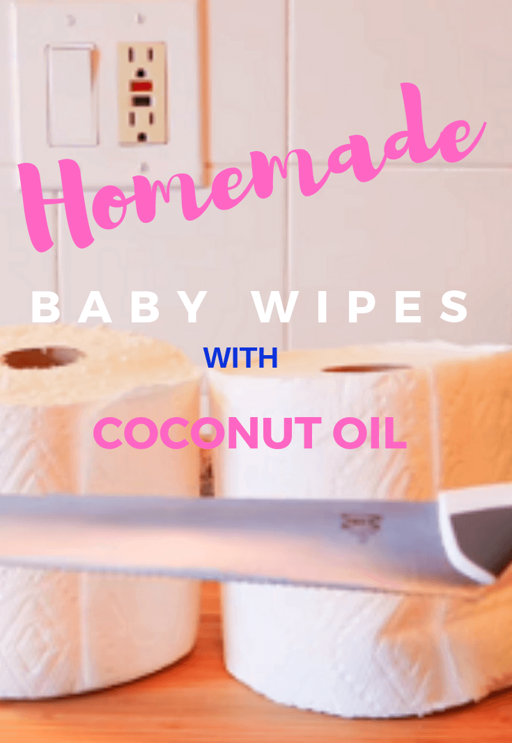 Homemade Baby Wipes With Cocnut Oil Big