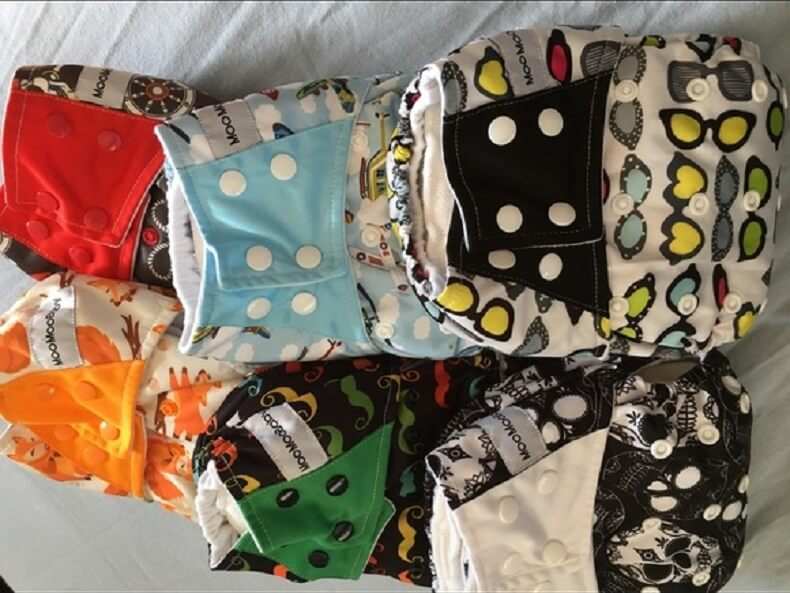 Moo Moo Baby Cloth Diapers