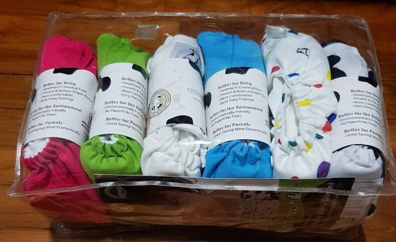 Moo Moo Cow Cloth Diaper 15