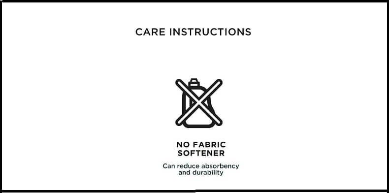 No Fabric Softener Instructions