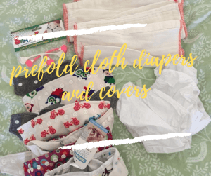 Prefold Cloth Diapers And Covers