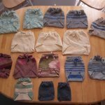 Wool Cloth Diaper Inserts And Covers