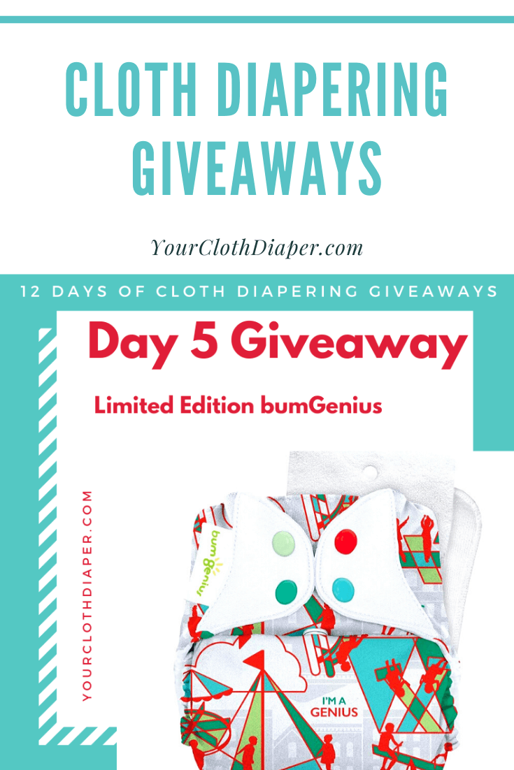 Cloth Diapering Giveaways Day 5 Bumgenius Pin