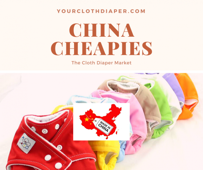 Cloth Diaper Market China Cheapies