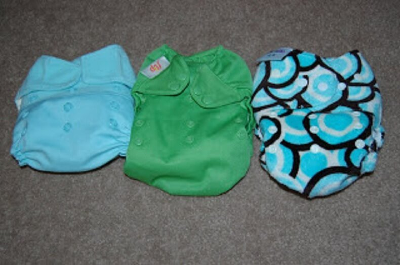 3 Sets Cloth Diapers