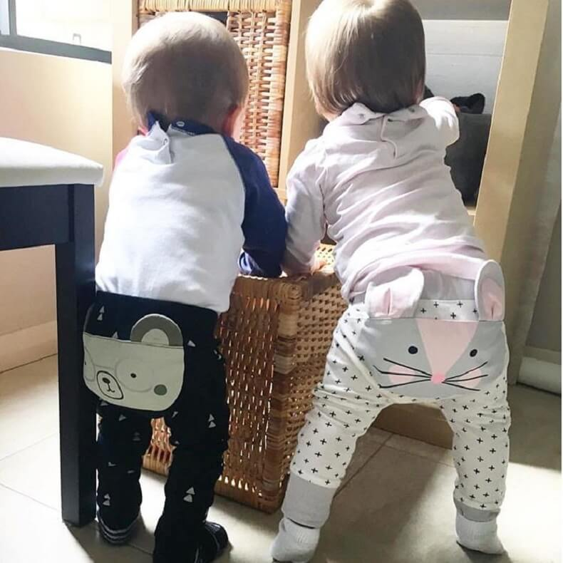 Harem Pants For Cloth Diaper Baby