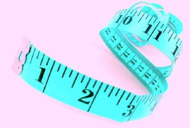Measuring Tape For Fitting Cloth Diaper Clothing