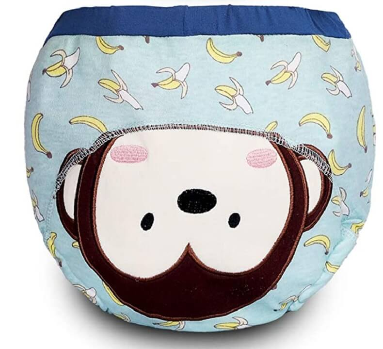 Moo Moo Baby Minky Cloth Diaper Training Pants