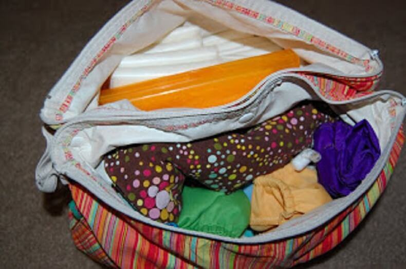 Traveling With Hybris Cloth Diaper System 4