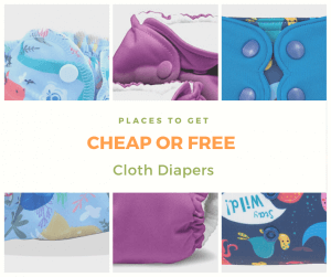 13 Places to Get Cheap or Free Cloth Diapers