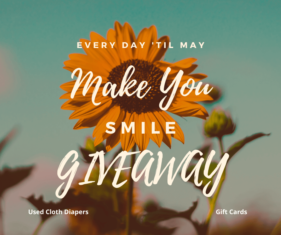 Every Day 'Till May, Make You Smile Giveaway