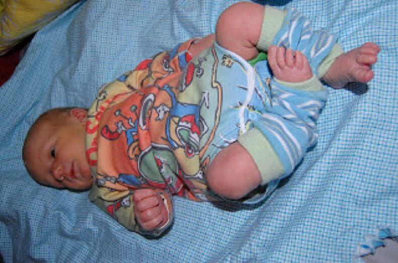 Newborn Cloth Diapering