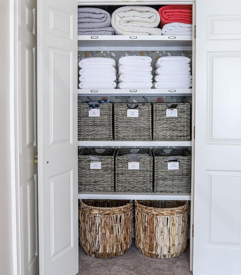 Cloth Diaper Linen Closet