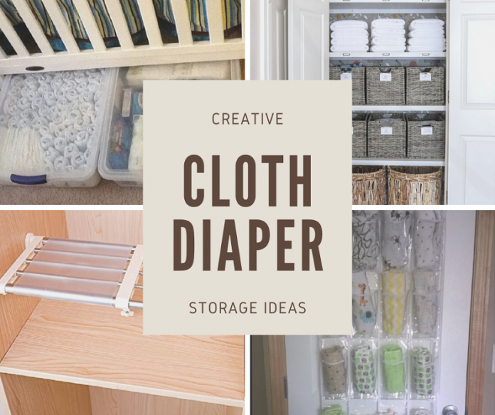 Creative Cloth Diaper Storage Ideas Yourclothdiaper