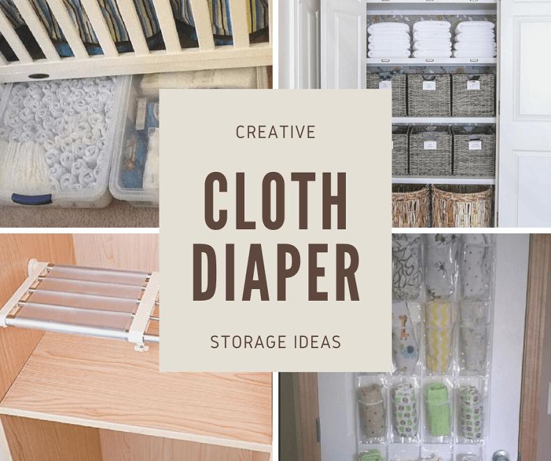 Solving Your Cloth Diaper Storage Problems – Brilliant Hacks!