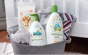 Free Babyganics & Burt's Bees Gift Set w/ Purchase ($44 Value)!