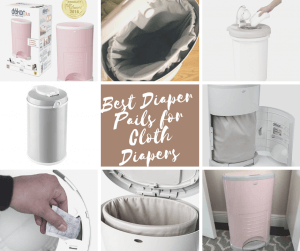 5 Best Diaper Pails for Cloth Diapers