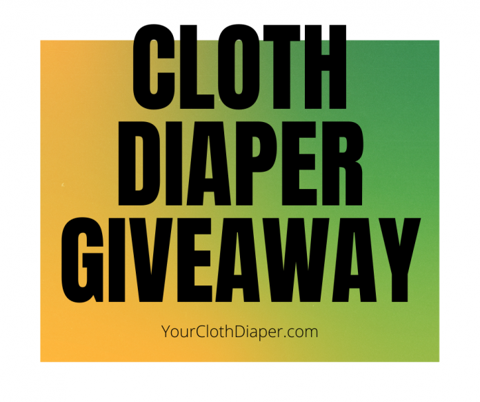 September 2020 Cloth diaper giveaway