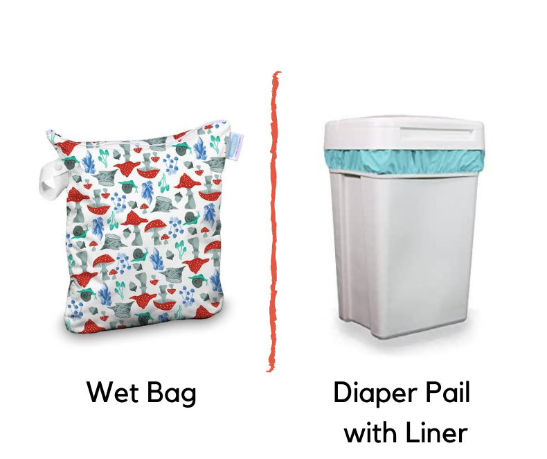 wet bag-diaper pail