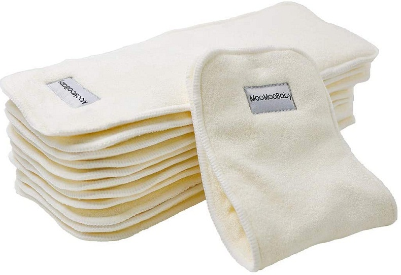 BumGenius-Bamboo Cloth Diaper Inserts