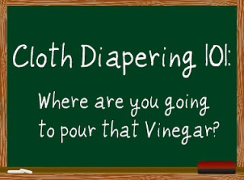 Read more about the article Is Vinegar Safe for Cloth Diapers?