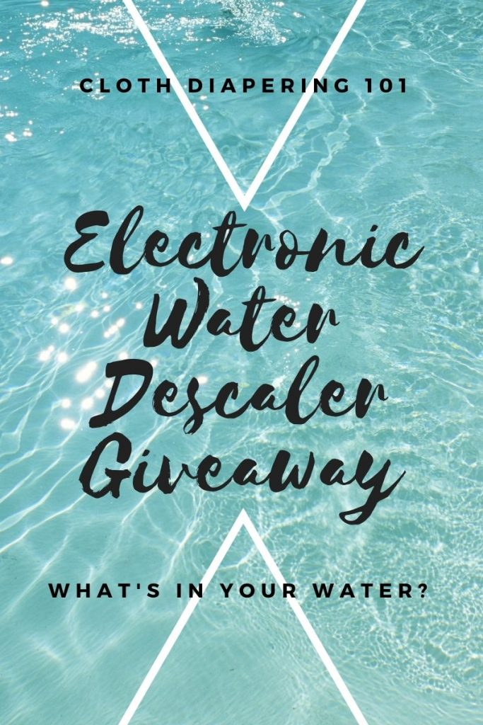 Electronic Water Descaler Giveaway