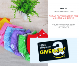 Cheap Cloth Diapers For As Little As $101.28 + GIVEAWAY