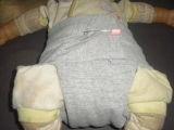 How To Make A Diaper Out Of A Shirt – No Sew Method!