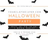 YourClothDiaper.com's Halloween Party Diaper Giveaway