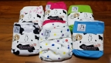 MooMoo Baby Cloth Diapers Adjustable All-in-Ones Review!